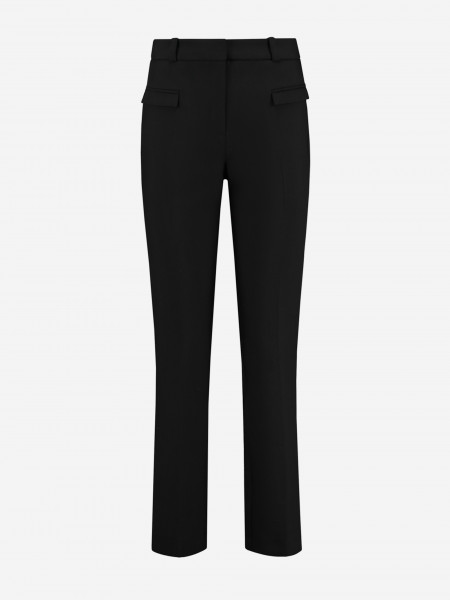 pantalon met klepzakken