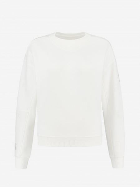 Sweater met F borduursel